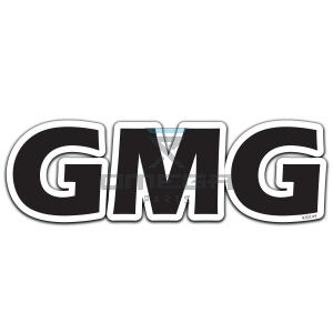 GMG  830144 Decal GMG 340x108mm