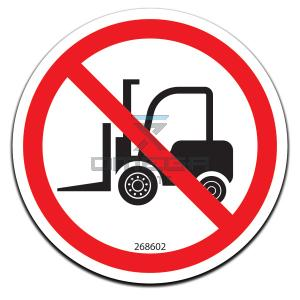 GMG  268602 Decal - no forklift here