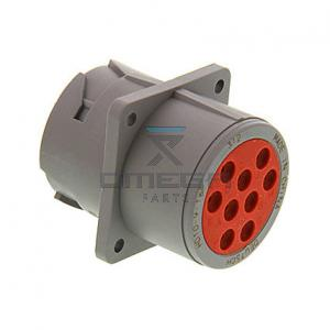 OMEGA  368050 Receptacle with flange - 9 way