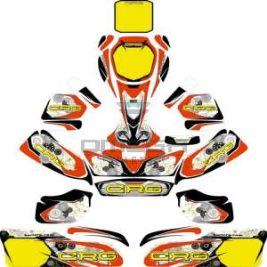 Keijzer Racing Parts  402942 stickerset compleet CRG 2016