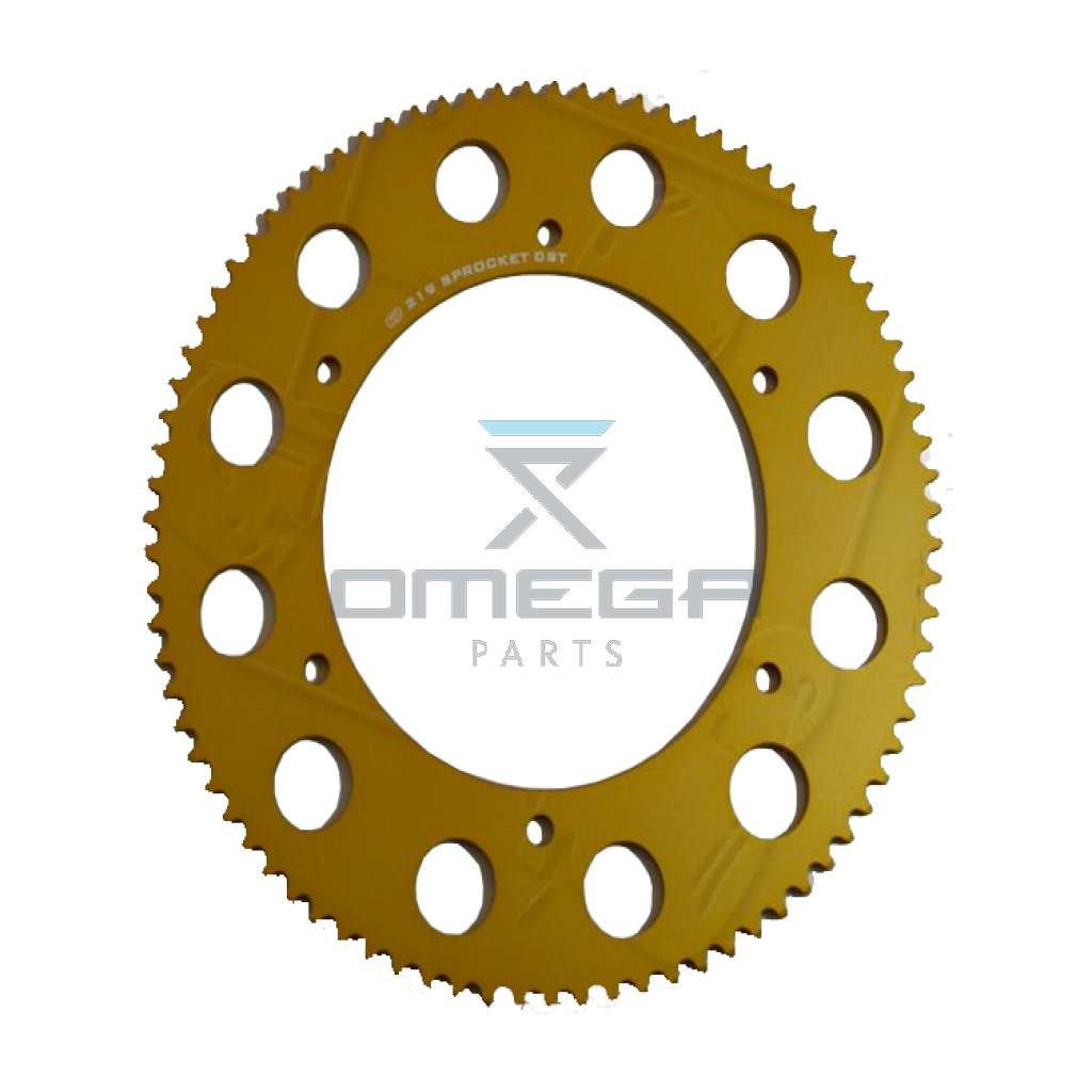 Schuurman b.v. 35100-80 SPROCKET 219 80T GOLD