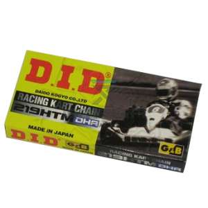 Keijzer Racing Parts  403022 ketting 219 GB/BL DHA DID 106L
