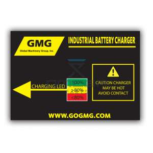 GMG  GMG-01 Decal GMG battery charger