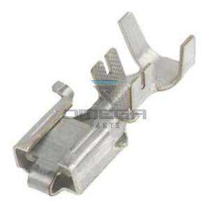 OMEGA  416118 Terminal , female - disconnect - for wiring 3 mmq - up to 5,0 mm2
