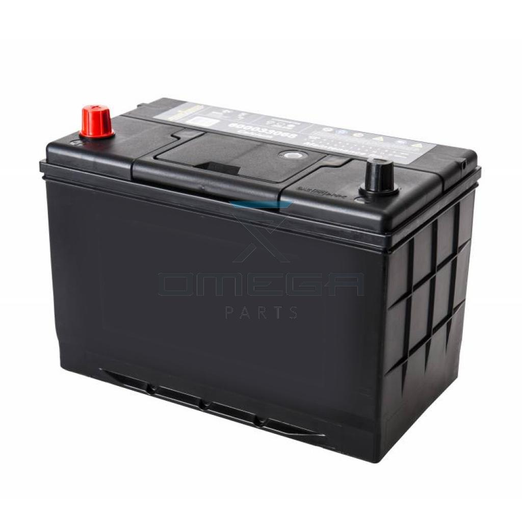 418200 omega battery 12v 100 ah omega parts. Black Bedroom Furniture Sets. Home Design Ideas