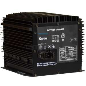 Genie Industries  229604 Battery charger 24V 25Amp Auto select voltage input 100-240Vac 50-60Hz
