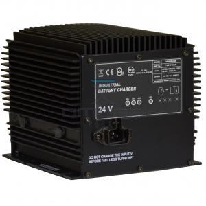 JLG  7041410 Charger - 24Vdc  19AMP  Auto select voltage input 100-240Vac 50-60Hz