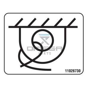 MEC Aerial Work Platforms 11026730 Decal - tie down