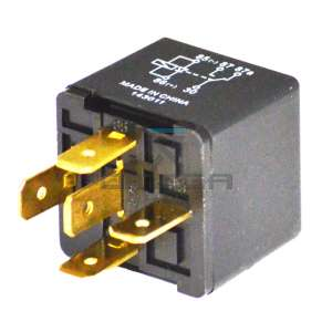 OMEGA  435716 Relay automotive - 12Vdc - 40A