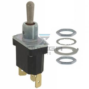 JLG  4360202S Toggle switch - 3 pos - spring return centre - single contact - quick disconnect