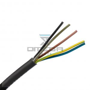 OMEGA 442602 Cable - Flex - 5x2,5mmq - Rubber - color coded