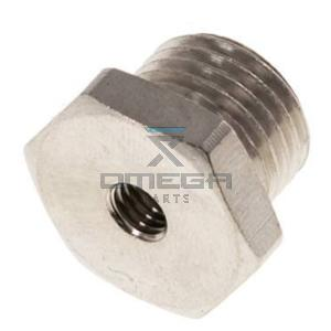 OMEGA 442728 Fitting - reducing - 1/4 outer  to inner M5
