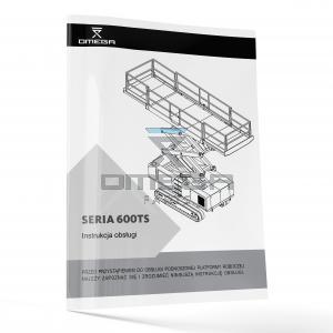 OMEGA 440822-PL Operators Manual - OMEGA 600TS-series - Polish
