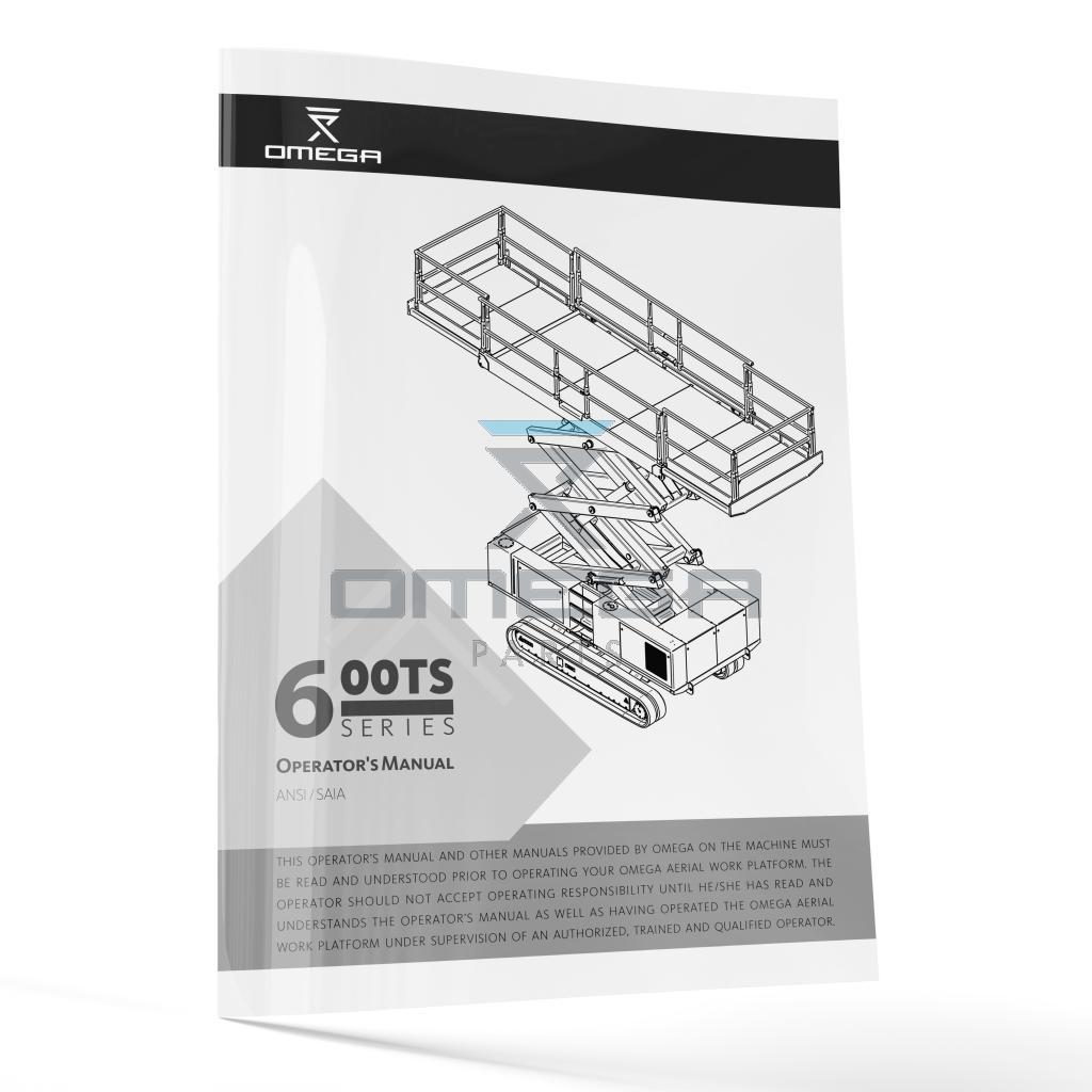 OMEGA 442834 Operators Manual - OMEGA 600TS-series - ANSI version