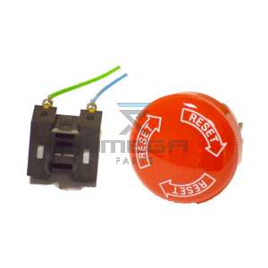 Autec  R0PULS00E0046 STOP PUSHBUTTON + CONTACT + CALLE LK/MJ SERIES