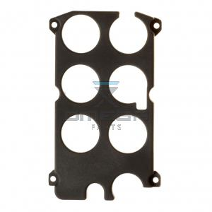 Autec  R0SCAT00P0071 Frame for PCB with push button - LK4/6