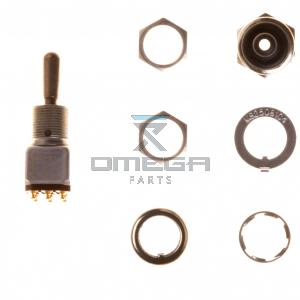 Omega Parts & Service 458498 TW Toggle switch 3 Momentary (ON)-OFF-(ON)