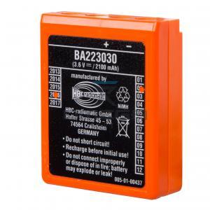 HBC Radiomatic  BA223030 Battery  NiMH 3,6 V -  2100 mAh