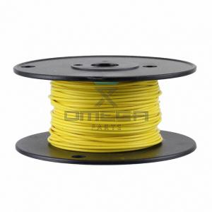 OMEGA  459032 Wire yellow - 24AWG - 30mtr