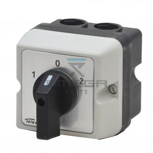 OMEGA  459044 3 pos switch - 3pol - with housing - 30A nom