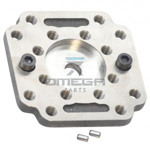 OMEGA  459054 Rear cover adaptor plate TPV1200 - gear pump group B2