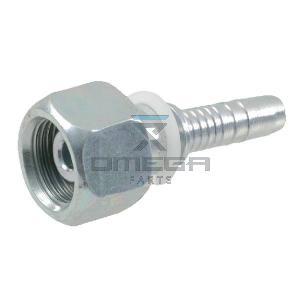 OMEGA  459378 Fitting - BSP 3/8 - 8mm straight tulle