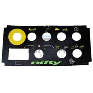 NiftyLift  P12832 label - hr12/sd170 cg btn box - universal 9 hole