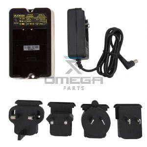 Autec ULC932A-AC230VAC Charger for LPM02 type battery - input voltage 100-240Vac