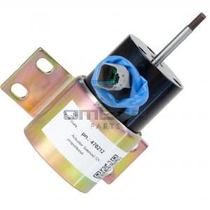 Woodward 0250-12E3-C-S1 Actuator Solenoid 12V - proportional