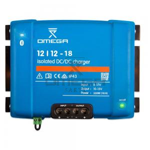 OMEGA 470276 DC - DC 12V - 18A - Lithium isolated on-board charger