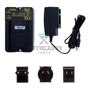 Autec UMC12V AC Battery charger - with AC supply  - suitable for 3.6V NiMH battery type  / 3.7V Li-Ion type battery
