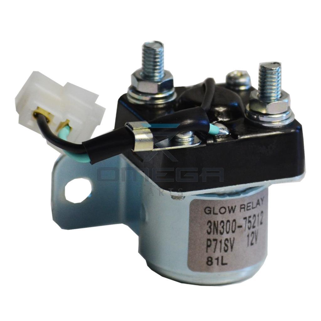 Kubota  3N300-75212 Relay - glow - 12V