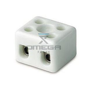 GMG  479356 Terminal block - 2way - ceramic