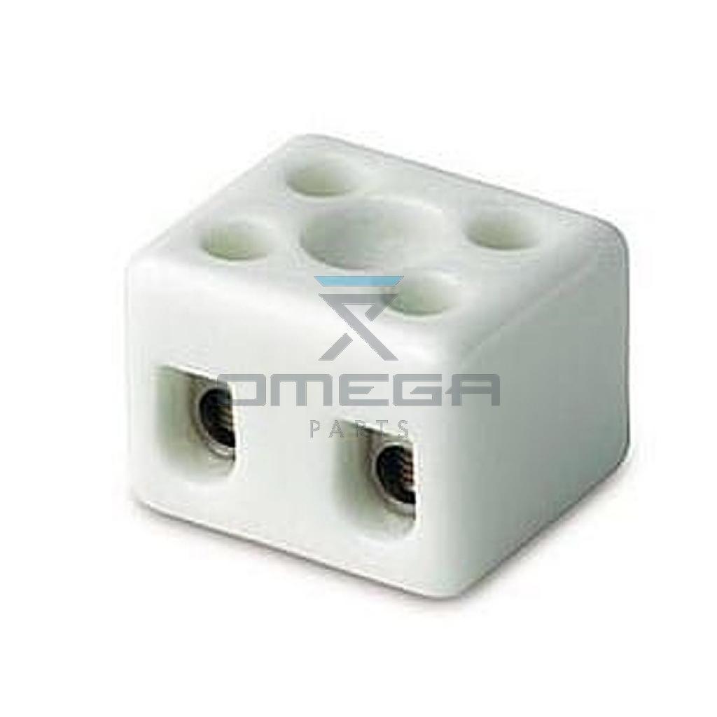 GMG  479356 Terminal block - 2way - ceramic