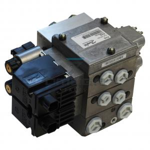 OMEGA  484028 Hydraulic manifold 12Vdc system - 2 full proportional PVG valves - with PWM controlled relieve valves. Monitored by two pressure transducer