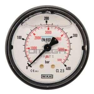 OMEGA  486454 Mano meter 400 bar - 63 mm