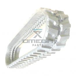 Omega Platforms  494786 Rubber - non-marking tracks - 400TS series