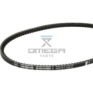 OMEGA 496008 V-belt - 10x735mm (La)