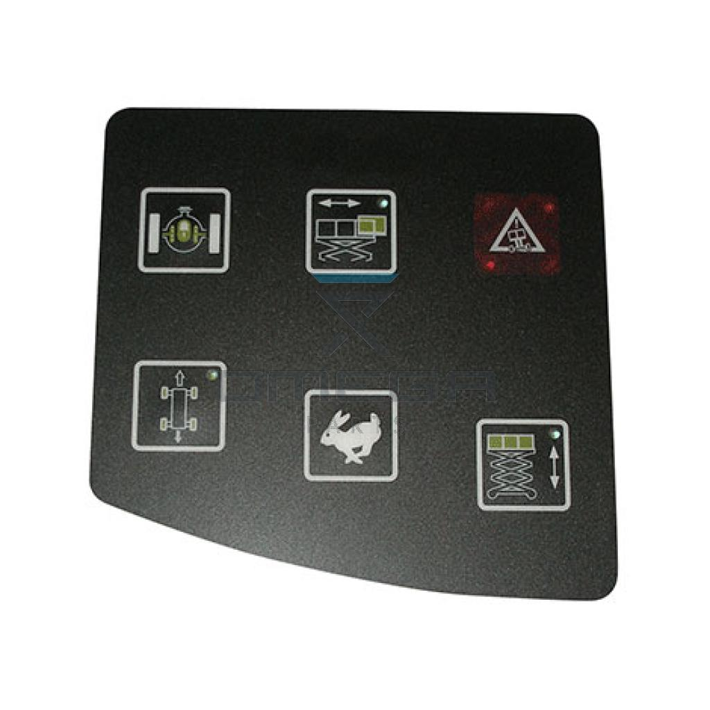 JLG  4360453 Decal overlay control panel