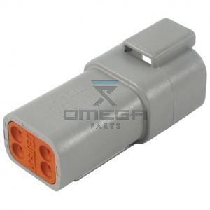 Skyjack  119130 Plug receptacle 4p