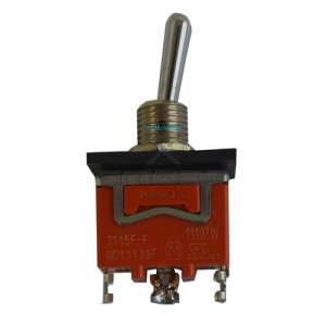 Autec  R0PULS00E0006 Toggle switch - 2 pos - spring return - single contacts