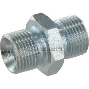 OMEGA  516602 Adaptor M-M-BSP 1/4