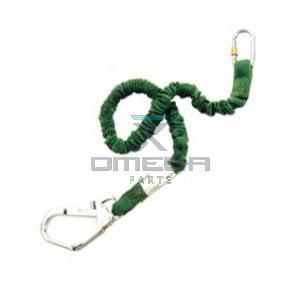 Miller  1005325 Elastic lanyard+shock absorber