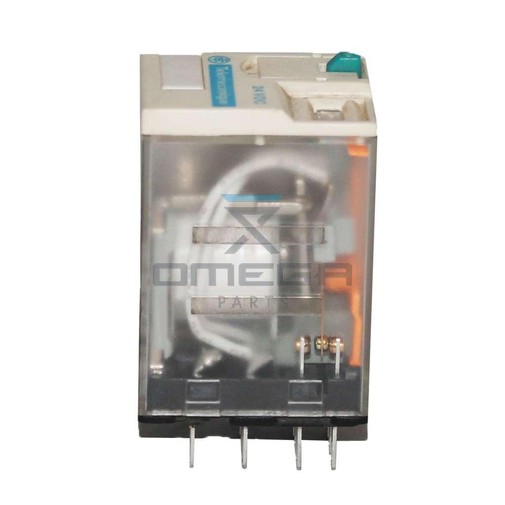 JLG  3740058 Relay 24Vdc 4pole