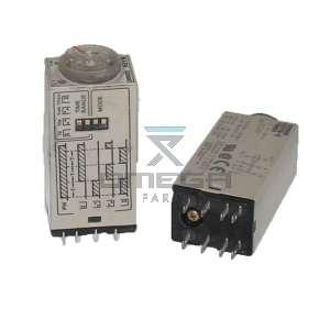 OMEGA  610188 Omron timer relay 24vac