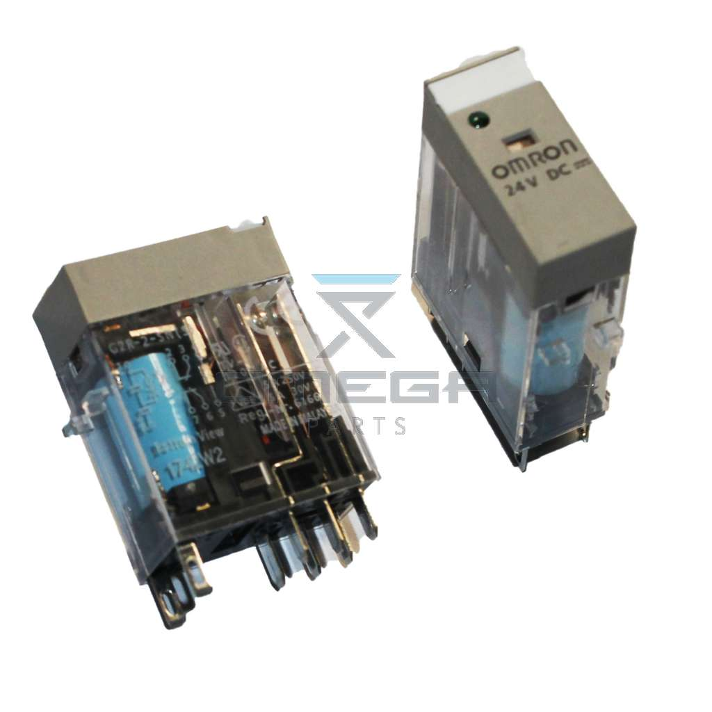 OMEGA  610190 Omron relay  24dc double contacts