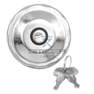 OMEGA  610360 Fuel tank cap w/key