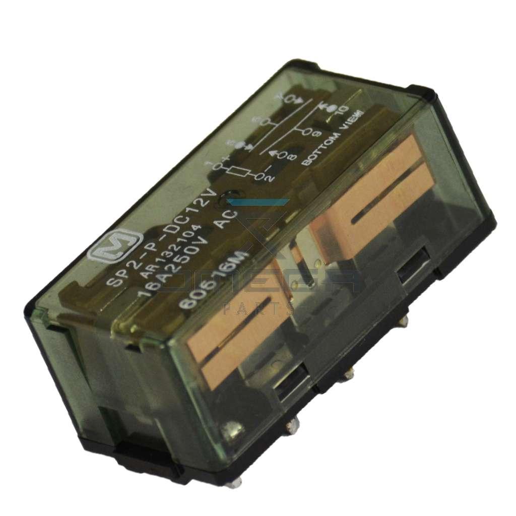 OMEGA  612250 Relay SP2-P-DC12V