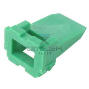 Omega Parts & Service  612-324 Wedgelock receptacle 4p