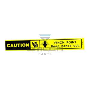 UpRight / Snorkel 062220-000 Decal Caution